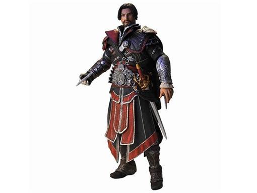 Boneco Ezio Ebony Assassin -