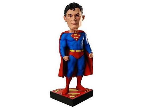 Boneco Superman (Super-Homem) - Head Knocker