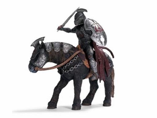Boneco Zahor e Cavalo