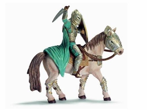 Boneco Xarok e Cavalo