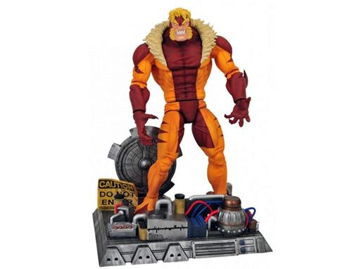 Boneco Sabretooth (Dente De Sabre - X-Men) - Marvel Select