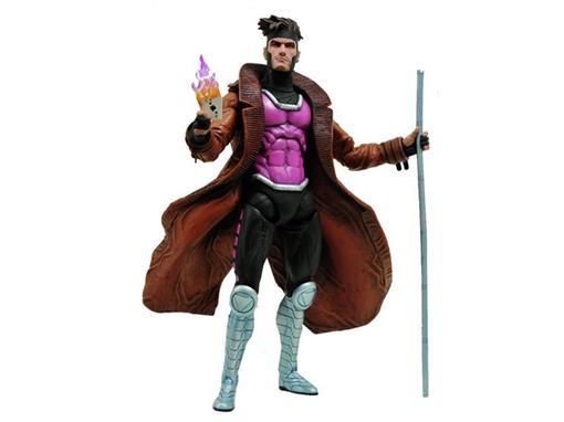 Boneco Gambit (X-Men) - Marvel Select