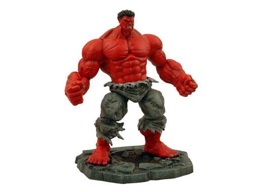 Boneco Hulk Vermelho - Marvel Select