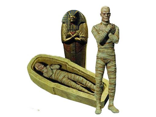 Boneco The Mummy (A Mumia) - Universal Monsters