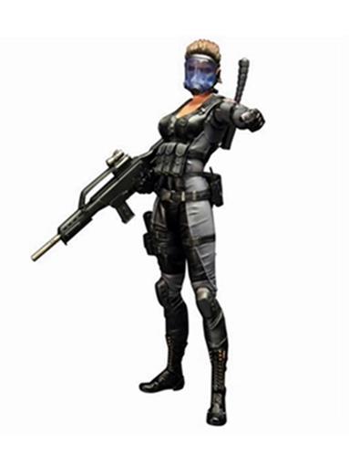Boneco Resident Evil - Operation Raccoon City - Play Arts Kai