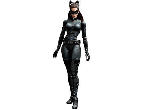 Boneco Catwoman (Mulher Gato) Batman Dark Knight T Play Arts Kai
