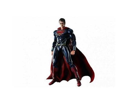 Boneco Superman - Man of Steel - Play Arts Kai