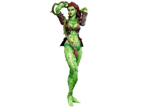 Boneco Poison Ivy - Batman Arkham City No.6 - Play Arts Kai