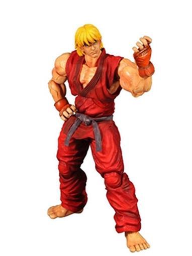 Boneco Ken - Super Street Fighter IV - Play Arts Kai