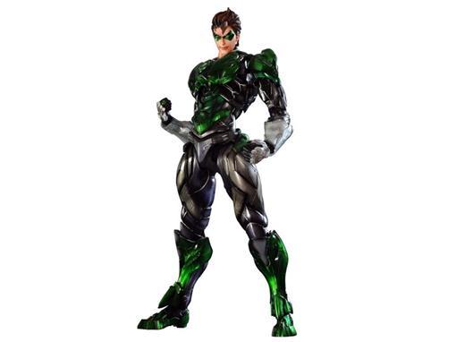 Boneco Green Lantern - Justice League No.3 - Play Arts Kai