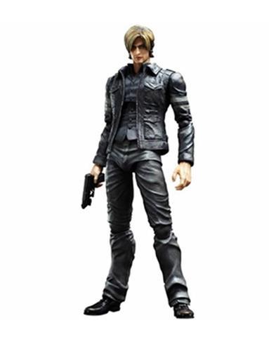 Boneco Leon S. Kennedy - Resident Evil 6 - Play Arts Kai