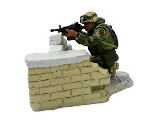 Soldado Marine LCPL. Ford (Baghdad, 2003) - 1:32