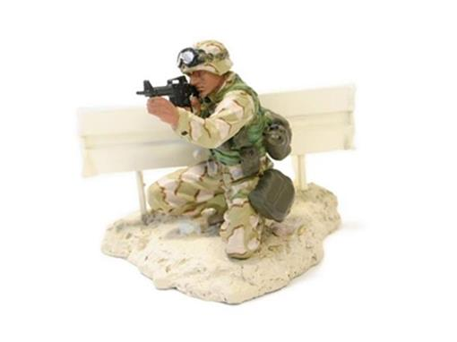 Soldado Marine PFC Miller (Baghdad, 2003) - 1:32