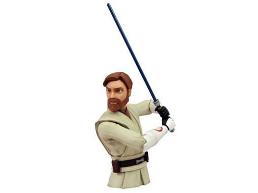 Star Wars - Obi Wan Kenobi - Clone Wars - Cofre de Moedas