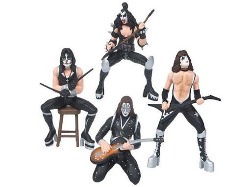 Bonecos da Banda KISS - Band Set - SuperStars
