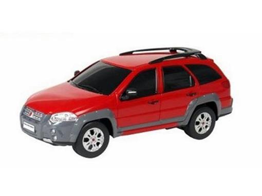 Fiat: Palio Adventure - Vermelha - Controle Remoto - 1:18