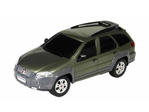 Fiat: Palio Adventure - Verde - Controle Remoto - 1:18
