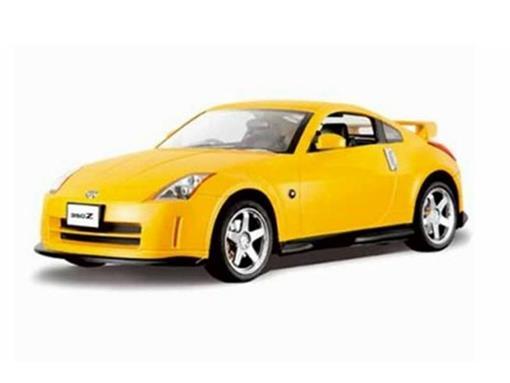 Nissian: 350Z - Amarelo - Controle Remoto - 1:24