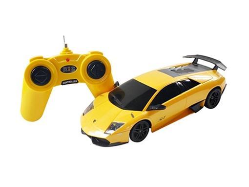 Lamborghini: Murciélago LP670-4 SV - Amarela - Controle Remoto - 1:24
