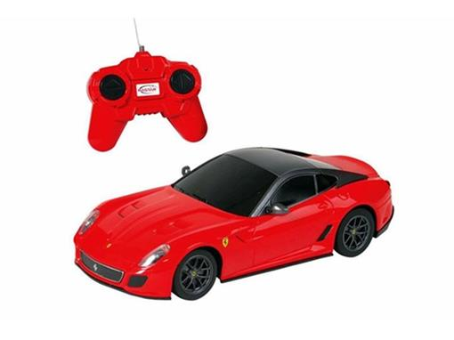 Ferrari: 599 GTO - Vermelha - Controle Remoto - 1:24