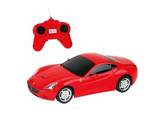 Ferrari: Califórnia - Vermelha - Controle Remoto - 1:24