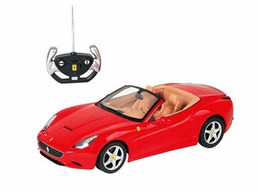 Ferrari: Califórnia - Vermelha - Controle Remoto - 1:12