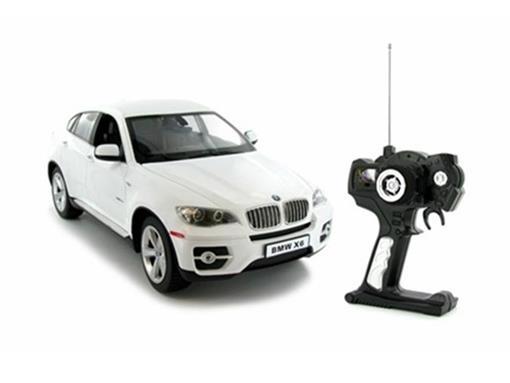 BMW: X6 - Branca - Controle Remoto - 1:14