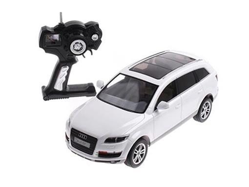 Audi: Q7 - Branco - Controle Remoto - 1:14