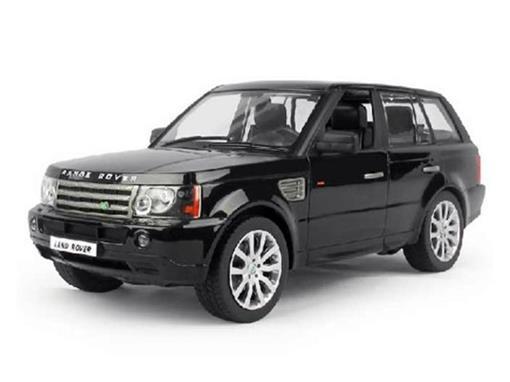 Land Rover: Range Rover Sport - Preto - Controle Remoto - 1:14