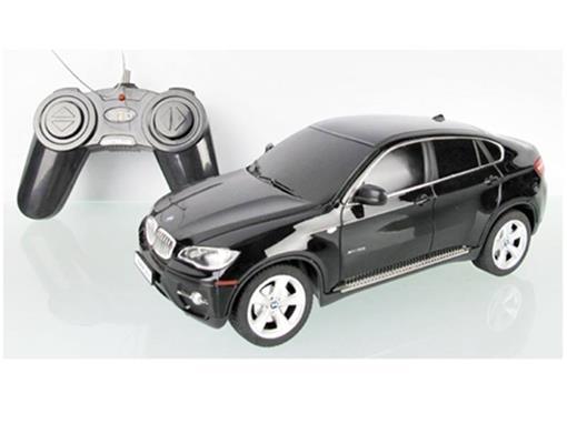 BMW: X6 - Preta - Controle Remoto - 1:24