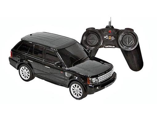 Land Rover: Range Rover Sport - Preta - Controle Remoto - 1:24