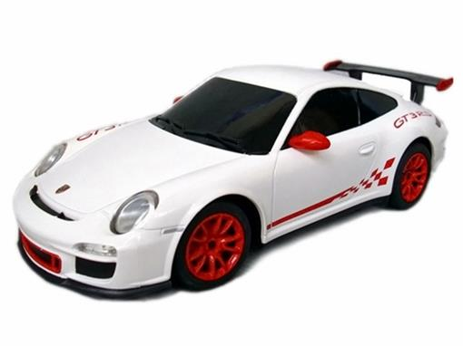 Porsche: 911 GT3 RS - Branco - Controle Remoto - 1:24