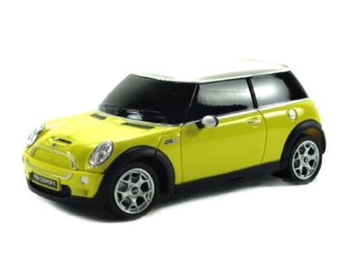 Mini Cooper: S - Amarelo - Controle Remoto - 1:24