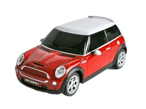 Mini Cooper: S - Vermelho - Controle Remoto - 1:24
