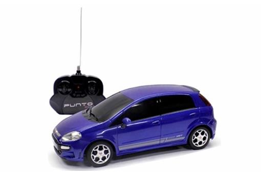 Fiat: Punto T-Jet - Azul - Controle Remoto - 1:18