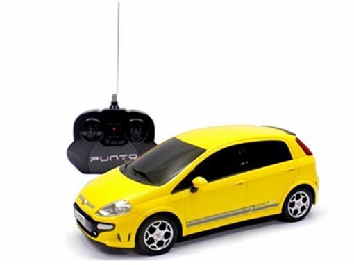 Fiat: Punto T-Jet - Amarelo - Controle Remoto - 1:18