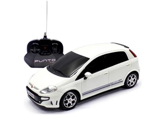 Fiat: Punto T-Jet - Branco - Controle Remoto - 1:18
