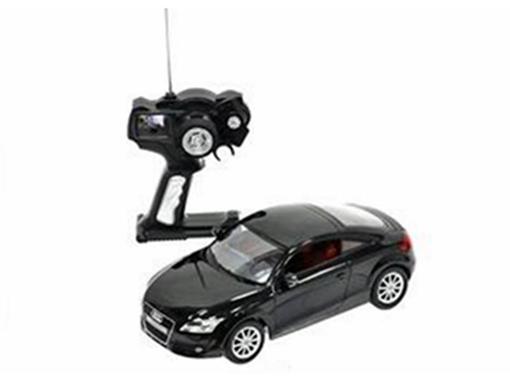 Audi: TT - Preto - Controle Remoto - 1:14