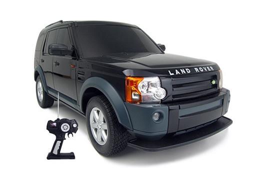 Land Rover: Discovery 3 - Preto - Controle Remoto - 1:14