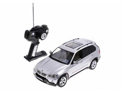 BMW: X5 - Prata - Controle Remoto - 1:14
