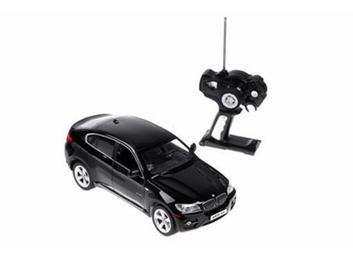 BMW: X6 - Preta - Controle Remoto - 1:14