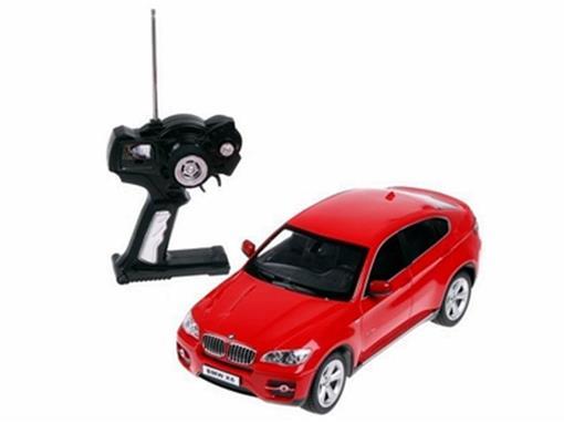 BMW: X6 - Vermelha - Controle Remoto - 1:14