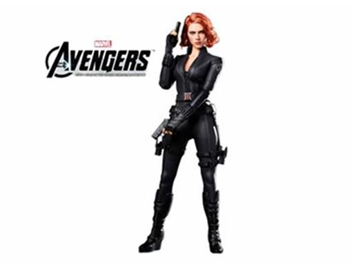 Black Widow (Viúva Negra) - The Avengers - Hot Toys