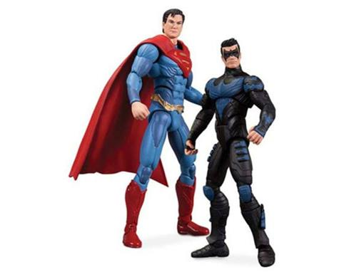 Injustice Superman Vs Nightwing - DC Collectibles
