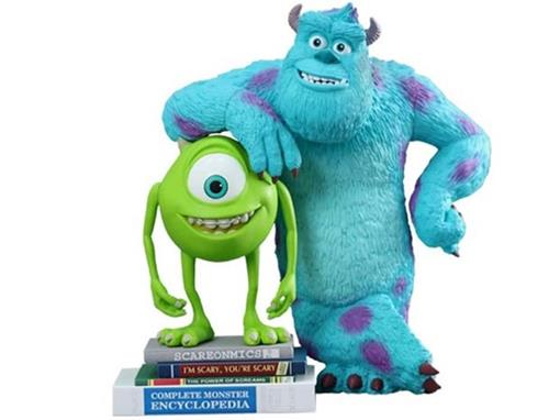 Mike & Sulley - Monsters University Vinyl Collectible - Hot Toys