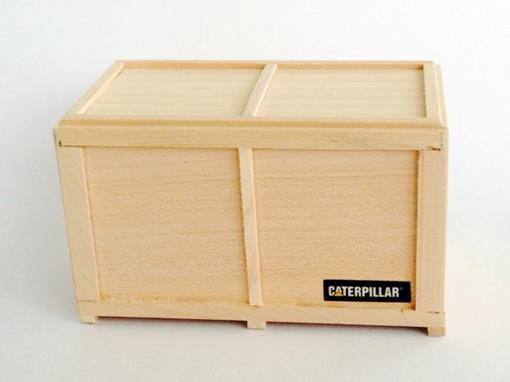 Carga Caixa de madeira 11 cm -