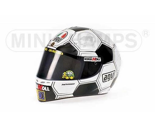 Capacete Valentino Rossi - Barcelona GP 2008 - 1:2 - Minichamps