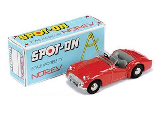 Triumph: TR3 - SpotOn - Vermelho - 1:42