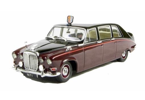 Daimler: DS420 Queen Mother - Marrom/Preto - 1:43
