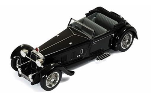Daimler: Double SIX 50 (1931) Convertible - Preto - 1:43